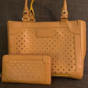 Kate Spade Hazel Park Tote and wallet